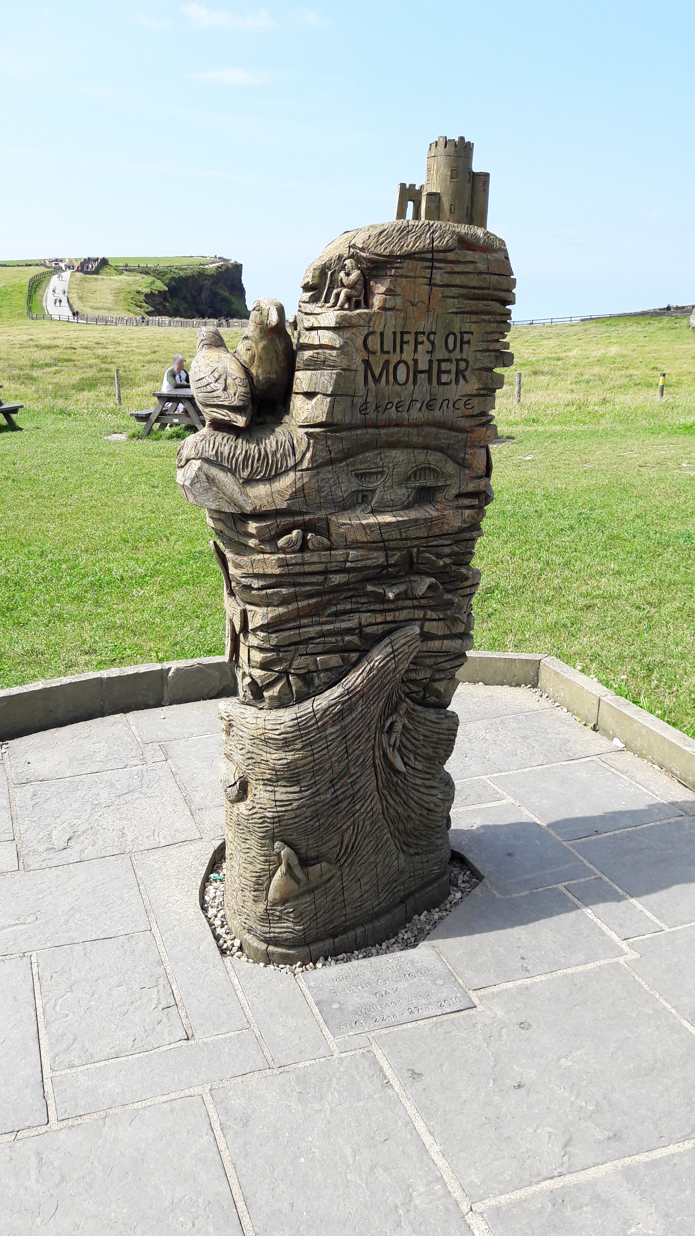 Cliffs of Moher Statue
